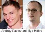 Andrey Pavlov and Ilya Holeu