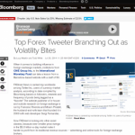Bloomberg News ranks FXStreet's Twitter profile among the top in its field