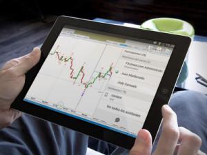 Webex on tablet