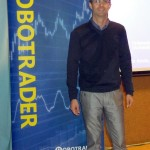 Gonçalo Moreira at the RoboTrader World