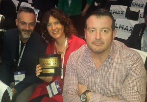 Finance Magnates Award 2015 - Sergi, Carolina and Colm