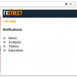 FXStreet, now at the Chrome Web Store
